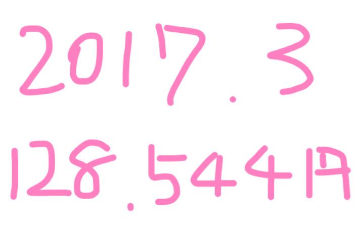 2017年3月のアフィリエイト報酬は「128,544円」アドセンス10万円超♡