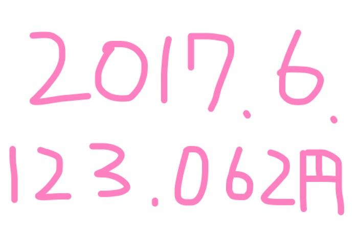 2017年6月のアフィリエイト報酬は「123,062円」アドセンス11万円♪