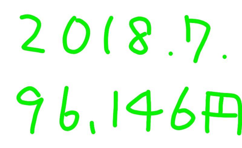 2018年7月のアフィリエイト報酬は「96,146円」アドセンスが回復中!